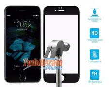 PROTECTOR CRISTAL TEMPLADO 3D PARA IPHONE 7 4.7 pulgadas NEGRO OPCIONAL