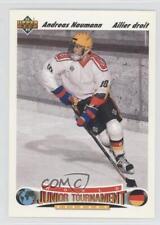 1991-92 Upper Deck French #678 Andreas Naumann Team Germany (National Team) Card