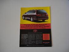 advertising Pubblicità 1995 TOYOTA CARINA SW 2.0 GLI