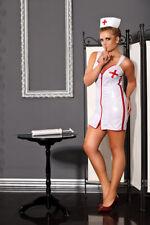 Krankenschwester Kostüm Große größen 38-56 Übergröße Nurse XXL Gogo Outfi