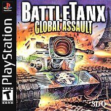 Battletanx Global Assault PlayStation PS1 -CIB