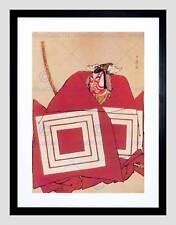La PITTURA attore SAMURAI danjuro KATSUKAWA SHUNSHO Japan incorniciato stampa b12x12479