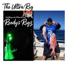 4x Fishing Rig Ultra Rigs Paternoster Snapper Rig Bottom Reedys Lumo Hooks 5/0