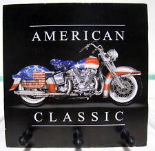 New American Classic Harley-Davidson Bike Key Rack 3 Hooks For Keys Biker