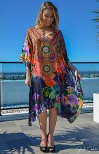 Silk Kaftan with heavily Embellishment
