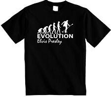 Evolution of Elvis Presley t shirt Evolve of The King Jailhouse Unisex T-shirt