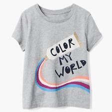 NWT Gymboree Pretty Braid Tee Shirt Top Girls Bright days Ahead 4,5-6,7,10-12,14