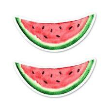 Watermelon Slices Set of 2 Car Vinyl Sticker - SELECT SIZE