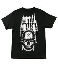 Metal Mulisha ARISE SMU Black White Distressed Screenprint S/S Men's T-Shirt