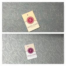 Floral Cachemira Encaje Suave Malla Croché Semitransparente Tejido 147cm Mtex