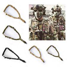 Shoulder Rifle Gun Sling Strap Hunting Tactical Airsoft Bungee Belt Rope CF