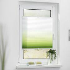 Lichtblick Plissee Klemmfix, ohne Bohren, verspannt, Farbverlauf grün