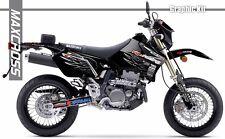 SUZUKI DRZ400S DRZ400SM DRZ400E 2000 2001 2018 MAXCROSS GRAPHIC FULL DECAL14 KIT
