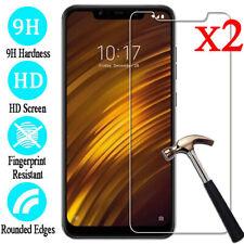 2X For Xiaomi Mi F1 A1 A2 8SE 9 6 5 Premium Tempered Glass Screen Protector Film