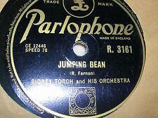 78 trs-rpm-SYDNEY TORCH-JUMPING BEAN/ FANDANGO -PARLOPHONE R.3161