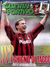 Guerin Sportivo 7 1993 Marco Van Basten Jean Pierre Papin - Paolo Montero