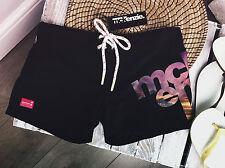 Ladies Mc Kenzie Shorts BLACK Beach Summer Size 6 -16