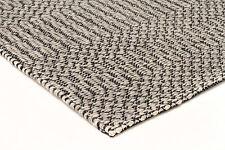 MILLERS 735 GREY WOOL FLATWEAVE RUG 3 sizes Modern Floor Mat FREE DELIVERY*