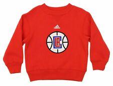Adidas NBA Youth Los Angeles Clippers Prime Fleece Sweatshirt, Red