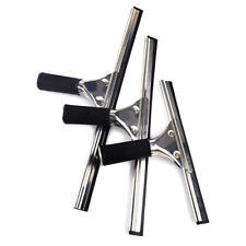 25/35/40/cm Stainless Steel Squeegee Shower Mirror Glass Window Wiper Clean Tool