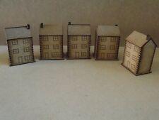 10 mm Pietra CITTA 'CASE W Windows pendraken e Modellino Ferroviario edifici Wargames