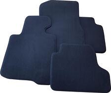 Fußmatten für Peugeot 5008 II ab 4.17 Velours Deluxe anthrazit mit Nubukband