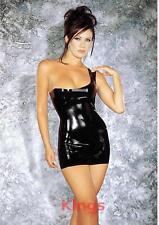 Sharon Sloane Latex Dress Uptown Girl Sexy Lingerie Rubber Fancy Dress