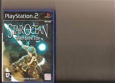 STAR Ocean Till End of Time PLAYSTATION 2 PS2 PS 2 rari-no istruzioni