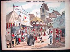 Pellerin Imagerie D'Epinal-Grand Theatre Nouveau No 1664 Town Fair Inv1774