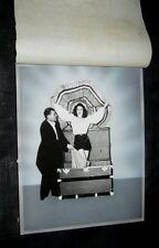 Original Zogi Program & Posters Mock Ups + Negatives For Engraving Plates & More