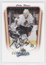 2005-06 Upper Deck MVP #87 Eric Daze Chicago Blackhawks Hockey Card
