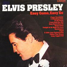Elvis PRESLEY Easy Come, Easy GoUK Press Camden CDS 1146 LP