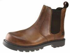 oaktrak rocksley 2 BRONZAGE BRUN à enfiler Chelsea, bottines à cuir pour hommes