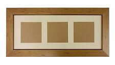 """20x8 in legno di pino antico effetto anticato foto photo frame-richiede 3 - 5""""x5"""" foto"""
