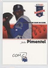2008 TRISTAR PROjections #155 Julio Pimentel Wilmington Blue Rocks Rockies Card