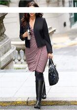 New Style par SHEEGO Blazer court Gr.42-58 Femmes Veste De L'entreprise Noir
