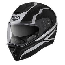 Caberg Drift Flux Matt Black/Silver Motorcycle Motorbike Helmet (+free gift)