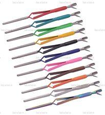 NEUF multi fonction Ongle Acrylique Pince cuticule Pousseurs en 11 Colours
