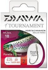 Daiwa Tournament Vorfachhaken - Forellenhaken 60cm