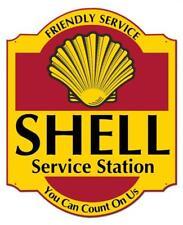 Vintage Shell Service Station Metal Sign Man Cave Garage Body Shop Barn Shed 2