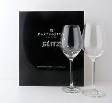 COPPIA di personalizzato Glitz bicchieri da vino Calici con cristalli-aggiungi messaggio