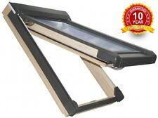 Wooden Pine Top Hung Skylight Roof Window 55 x 98cm Rooflight