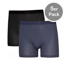 5er Spar-Pack ESGE Feinripp Ringel Herren Unterhosen Shorts Pants mit Eingriff