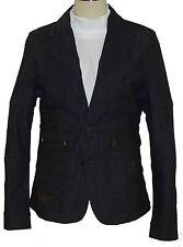 'Gold Spun' Ladies Designer Denim Jacket- Color: Dark Blue Size: S-M-L-XL