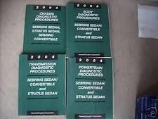 2004 DODGE STRATUS & SEDAN Service Shop Repair Manual DIAGNOSTICS 04
