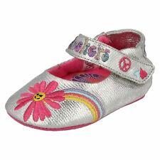 SKECHERS Argent Doux pour bébé style de chaussure - Bébé floraison