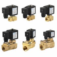 2wege 1/8-1 Pulgada Válvula de solenoide latón 230v/DC12V/24v NC / NO IP65