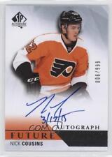 2015 SP Authentic #230 Nick Cousins Philadelphia Flyers Auto Rookie Hockey Card