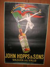 MARSALA JOHN HOPPS & SONS ILLUSTRATO BAZZI 1923 MAZARA