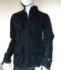 DEPT WOMENS BLACK CASUAL JACKET COAT   (S)  8/10   BNWT